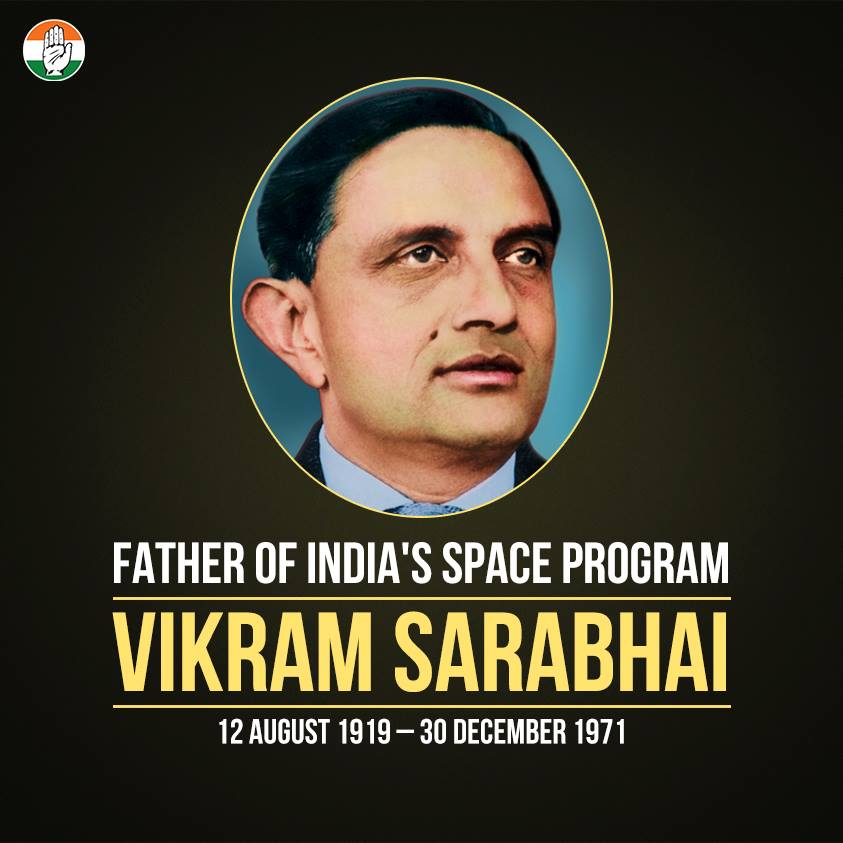 great gujarati scientist vikram sarabhai Vikram sarabhai or vikram ambalal sarabhai who would have turned 99 today was a rare combination of a scientist, an innovator, industrialist and a visionary he was one of the greatest scientists produced by india, and was known as the father of the indian space programme sarabhai was born in an .