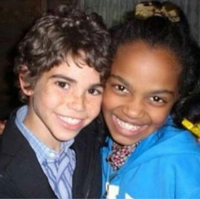 Disney Aus On Twitter Cameron Boyce And China Anne Mcclain When They Were Young Now They Re In Descendants2 Together