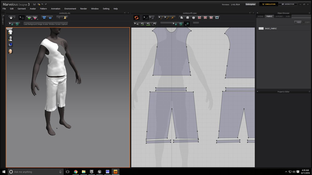 Among The Dead Ones On Twitter Creating Clothes In Marvelous Designer Is A Blast Unrealengine Ue4 Zombieclothes Atdo Indiedev