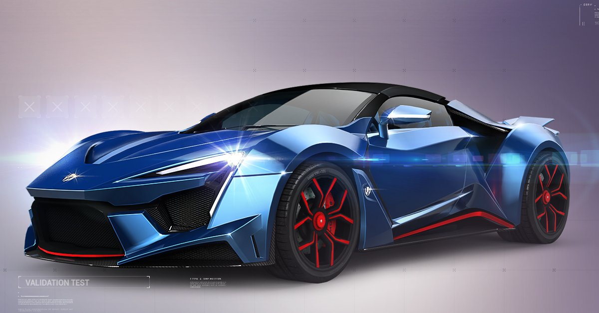 The W Motors Fenyr SuperSport is a hypercar by W Motors developed as a faster more trackfocused version of the W Motors Lykan HyperSportIt is named after Fenrir a monstrous wolf in Norse mythology The Fenyr used in the Asphalt games is the preproduction version evidenced by the topmounted dual exhausts