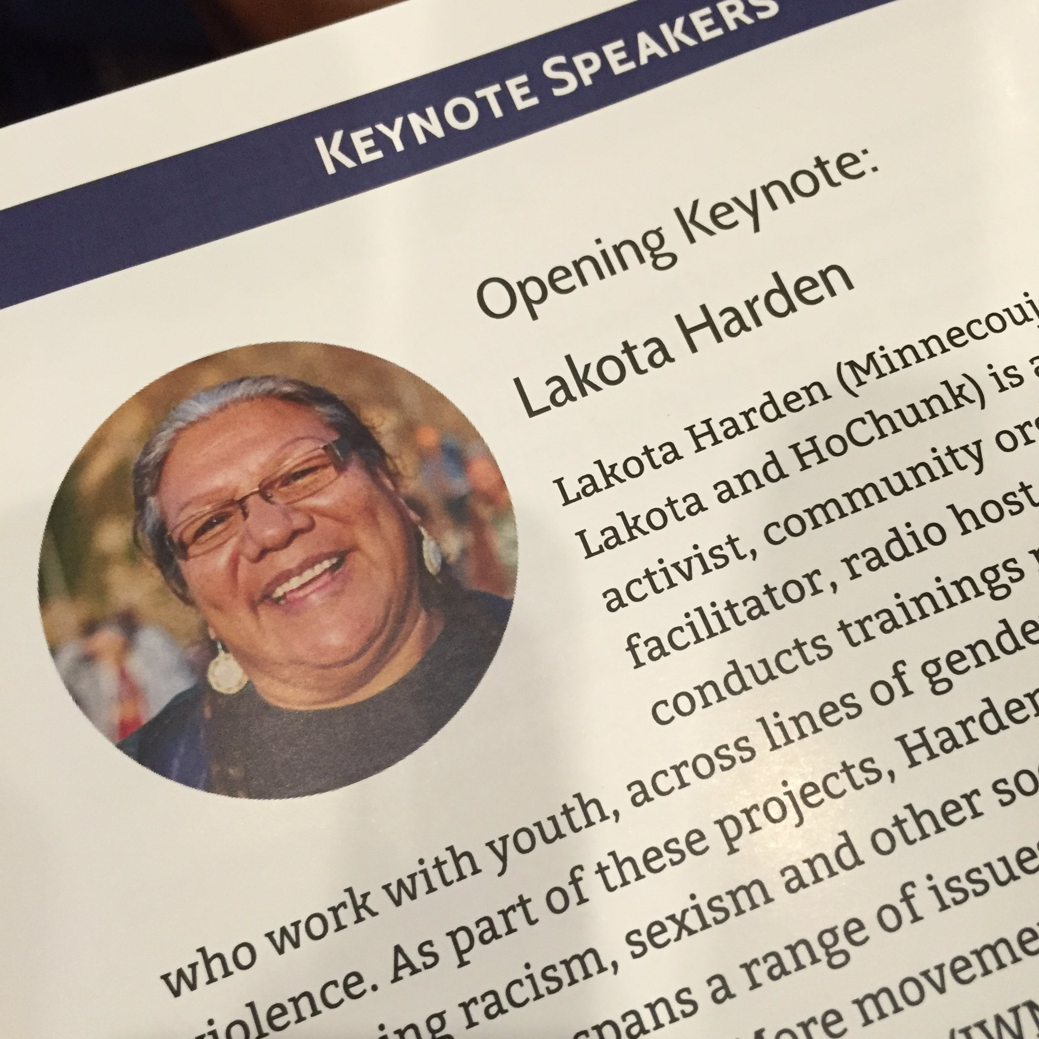 Thumbnail for NDLC'16 Opening Keynote - Lakota Harden