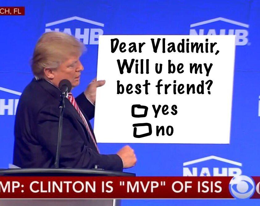 selectall donald trump held sign