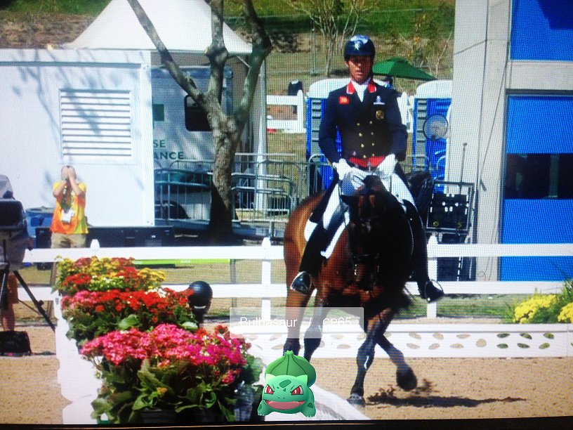 We've examined footage for @HesterDressage and found what spooked Barney... Amazing ride by the King!  #GoBarneyGo https://t.co/3uXiiuqMz3