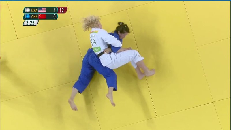 Kayla Harrison WINS first match against Zhang of China with ippon by pin! Let's go @Judo_Kayla! https://t.co/2TzsB94gip