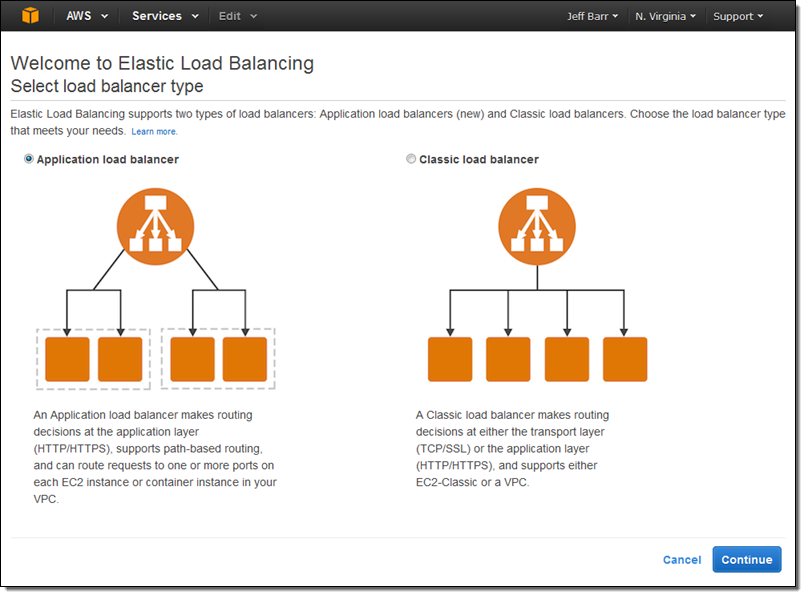 New #AWS Application Load Balancer - Containers, HTTP/2, WebSocket - https://t.co/ITJeI2XIAX #AWSSummit https://t.co/TDp9LC5XRz