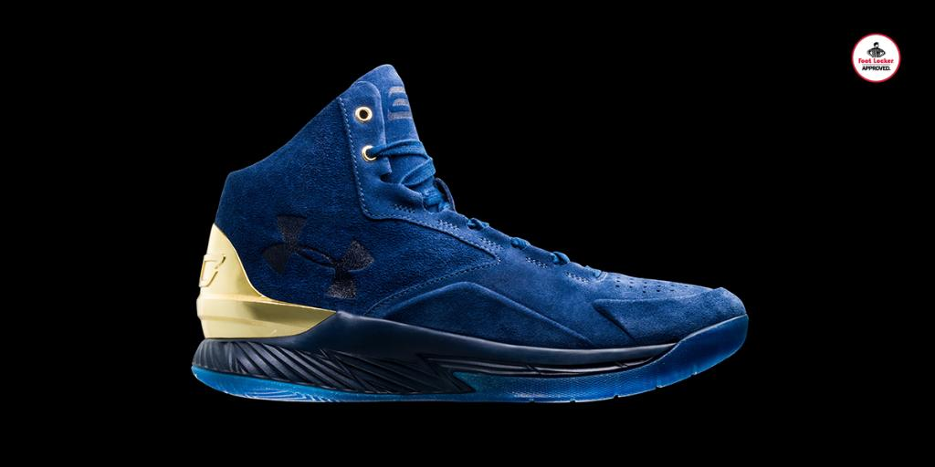 343ae542a68c  footlocker 2 years. premium materials the navy suede uabasketball curry  lux coming 813 stores