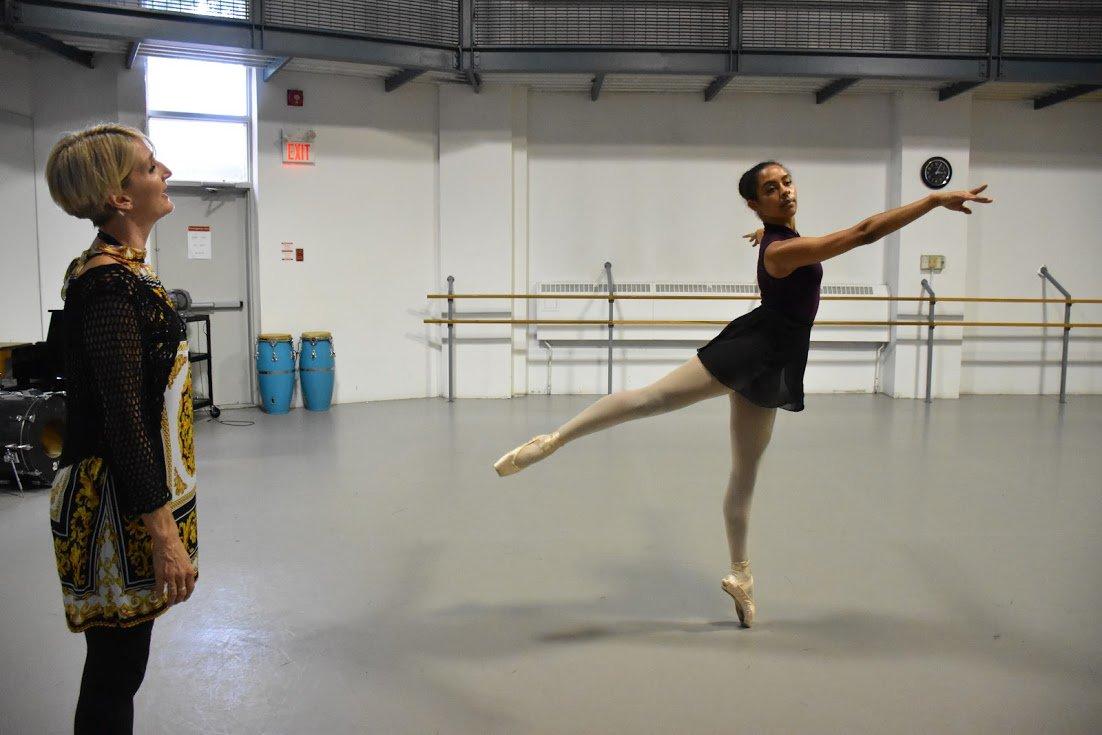 #TBT to #SunDance16 with company member Essence and SunDance Ballet teacher Clare Andreou @RADCanada #CCDTDance https://t.co/3NnVFyeVjI