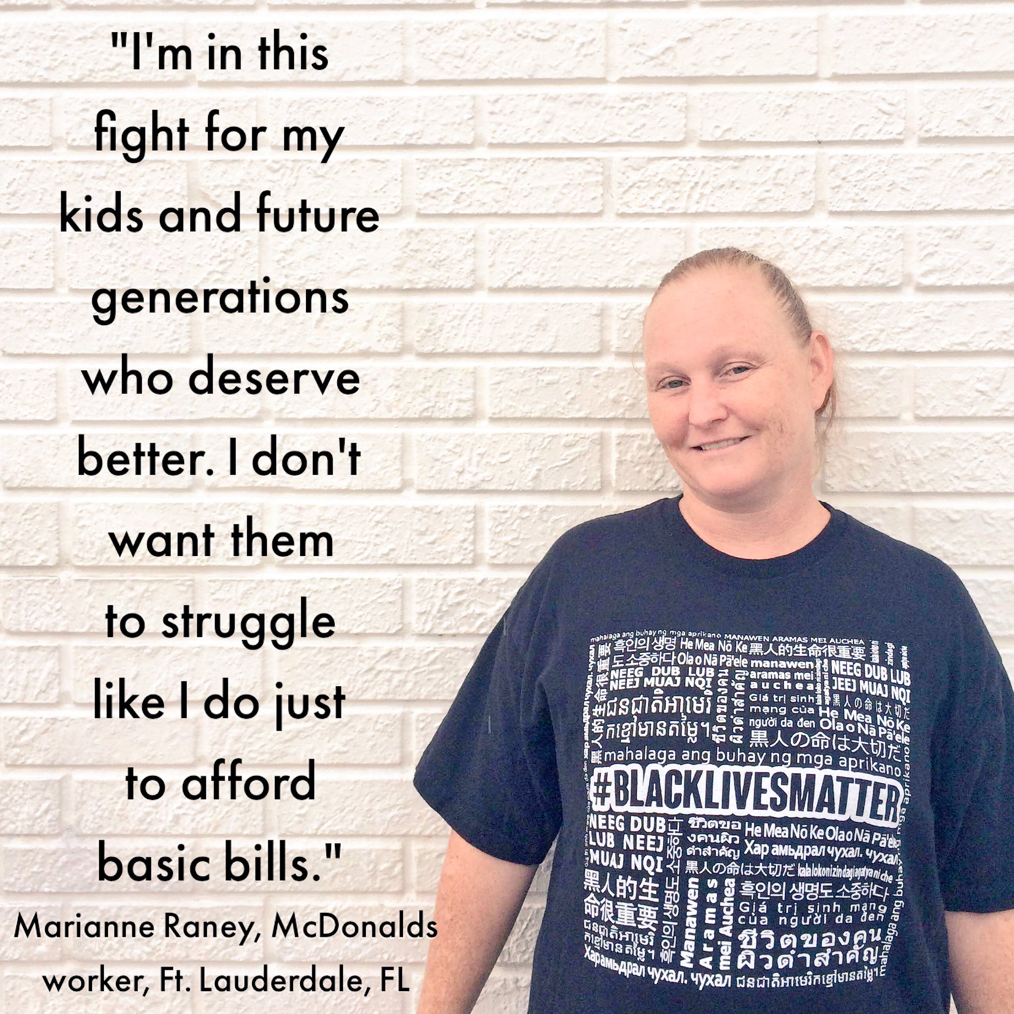 Marianne is bringing the Fight from down South of the South to Richmond for her kids future. #FightFor15 https://t.co/yIP3GAAEU3