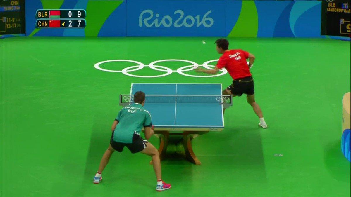 France Tv Sport On Twitter Video Tennis De Table Le Point