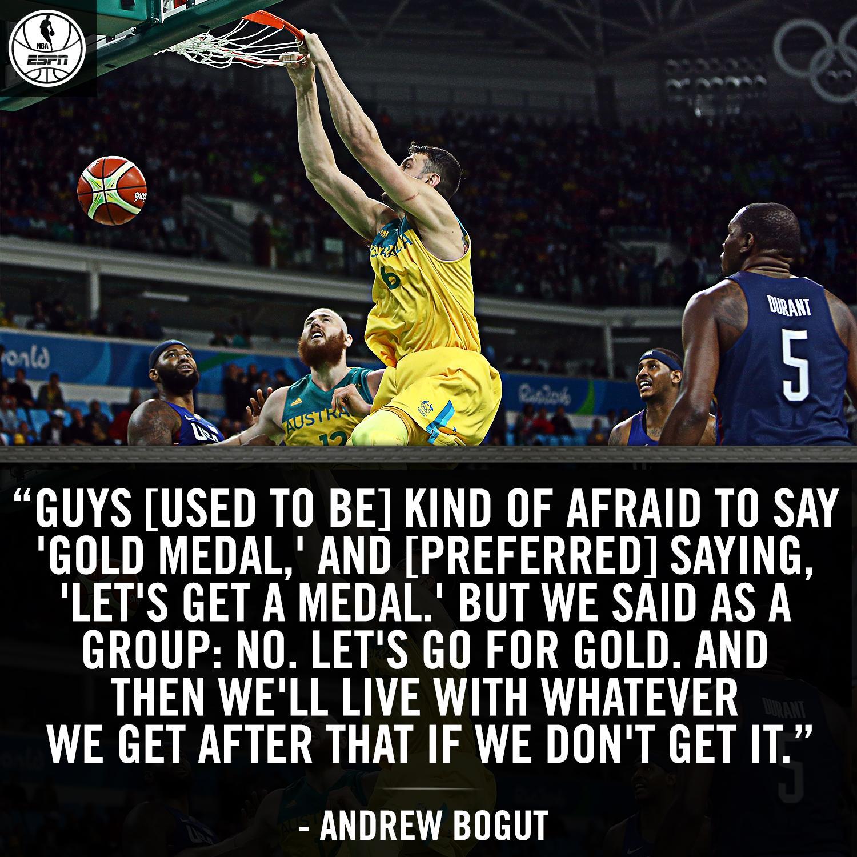 Nba On Espn On Twitter Team Australia Is Going For Gold