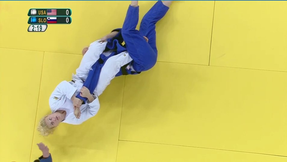 Kayla Harrison wins by ippon with submission by arm bar. She fights in the Finals! Watch live on NBC Sports Network! https://t.co/YEc1mSjjD8