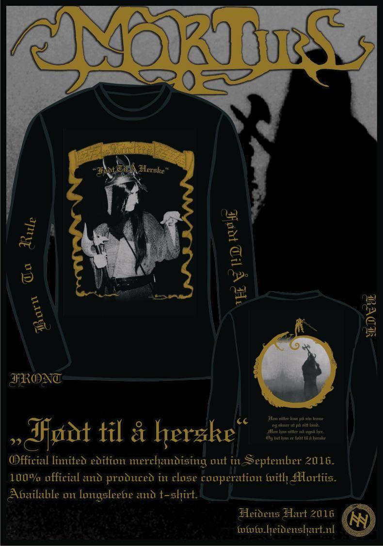 Mortiis On Twitter New Vintage Shirt Designs