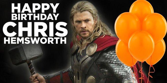 Chris Hemsworth Happy Birthday Message Creativehobbystore