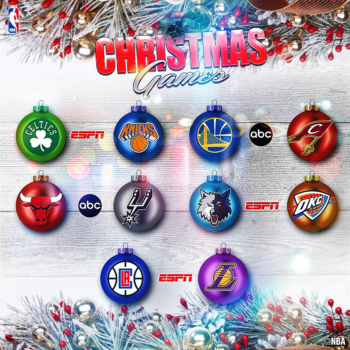 Nba Christmas Day Schedule.Nba Schedule Bleacher Report Latest News Videos And