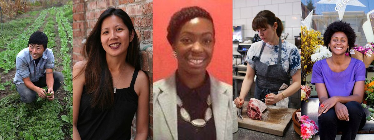 """Join us at """"Women Leaders at the Table: Addressing Inequity in the Good Food Movement"""" 8/15: https://t.co/01TN4KoDZh https://t.co/AaQmiyHPys"""