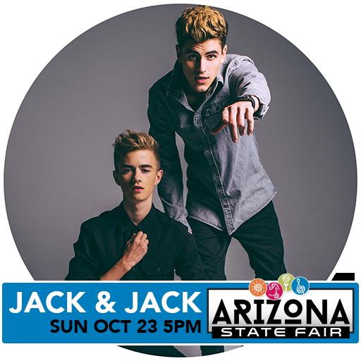 #2016VeteransMemorialConcertSeries - #Jack&Jack 10/23 at #ArizonaStateFair Win tix-> https://t.co/PJ4hcUcLBC https://t.co/OTRqmsEP5A