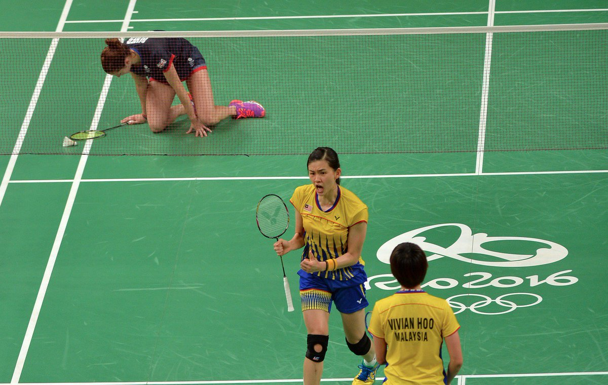 "BERNAMA on Twitter ""Vivian Hoo Khe Wei menang 21 17 24 22 ke"