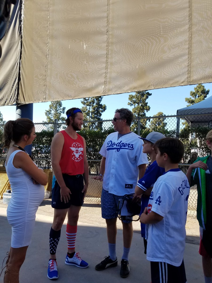 And so it begins... @ClaytonKersh22 @ellenkershaw and Will Ferrell  #PingPong4Purpose https://t.co/Cax0xUVrIu