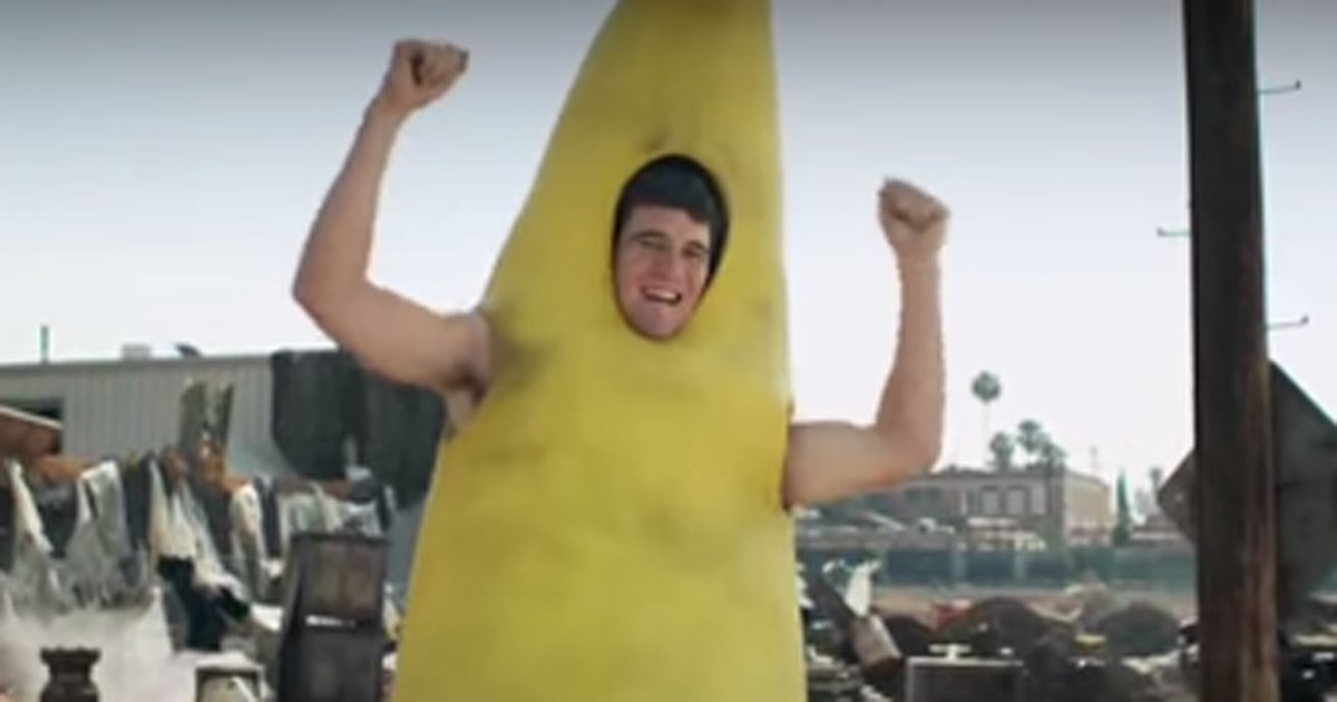 VIDEOS Andrew Luck saves puppies Eli Manning wears a banana suit in new DirecTV  sc 1 st  Scoopnest.com & Videos: andrew luck saves puppies eli manning wears a banana suit ...