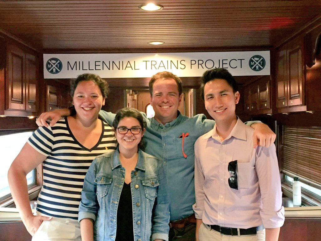 Thumbnail for #Fulbright Millennial Trains Project Journeys 2016