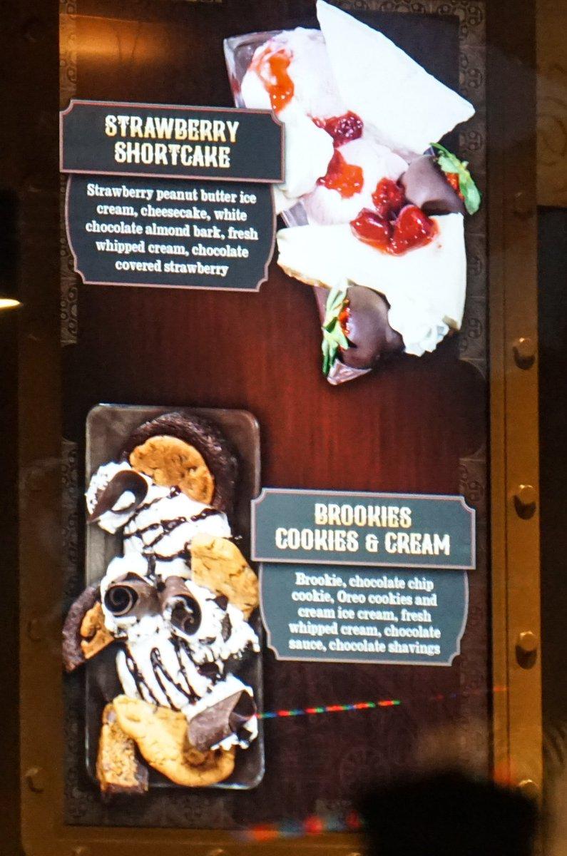 Bioreconstruct On Twitter Desserts On Menu Display Inside