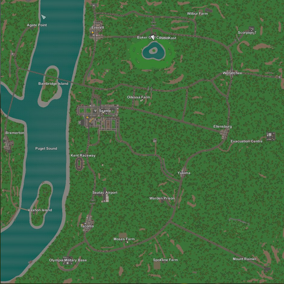 RoboKast on Twitter Here is the new map for the RP server It is