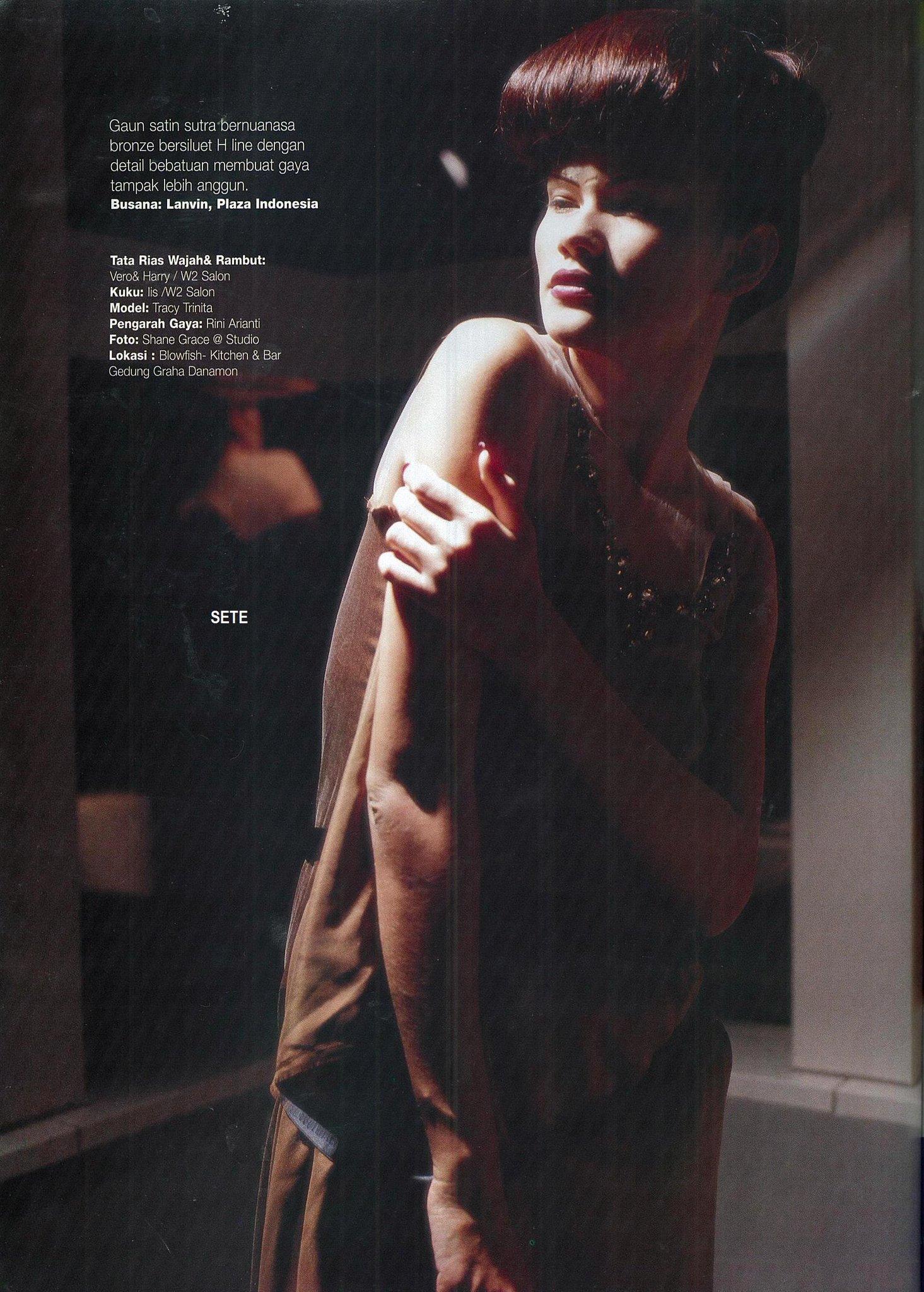 "Setepanus Purnama on Twitter "" throwback2003 TracyTrinita was featured on the dewimag for fashion rubric Indonesia … """