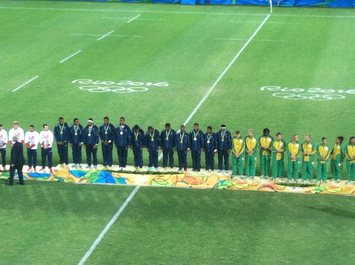 Well done @fijirugby! Truly deserving winners. Thank you for taking our #Olympic sport to a whole different level! https://t.co/LHQcdX44tB