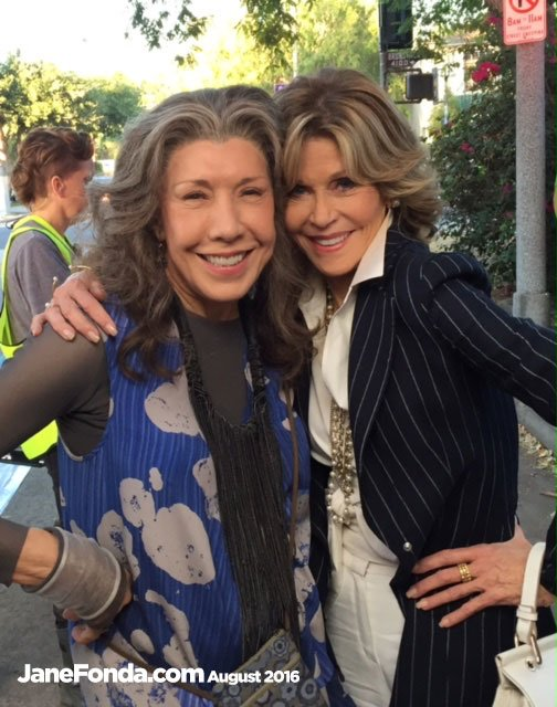 tomorrow we start shooting final episode of @GraceAndFrankie time has flown by probably cause we've had so much fun https://t.co/2aZ5qfynWq