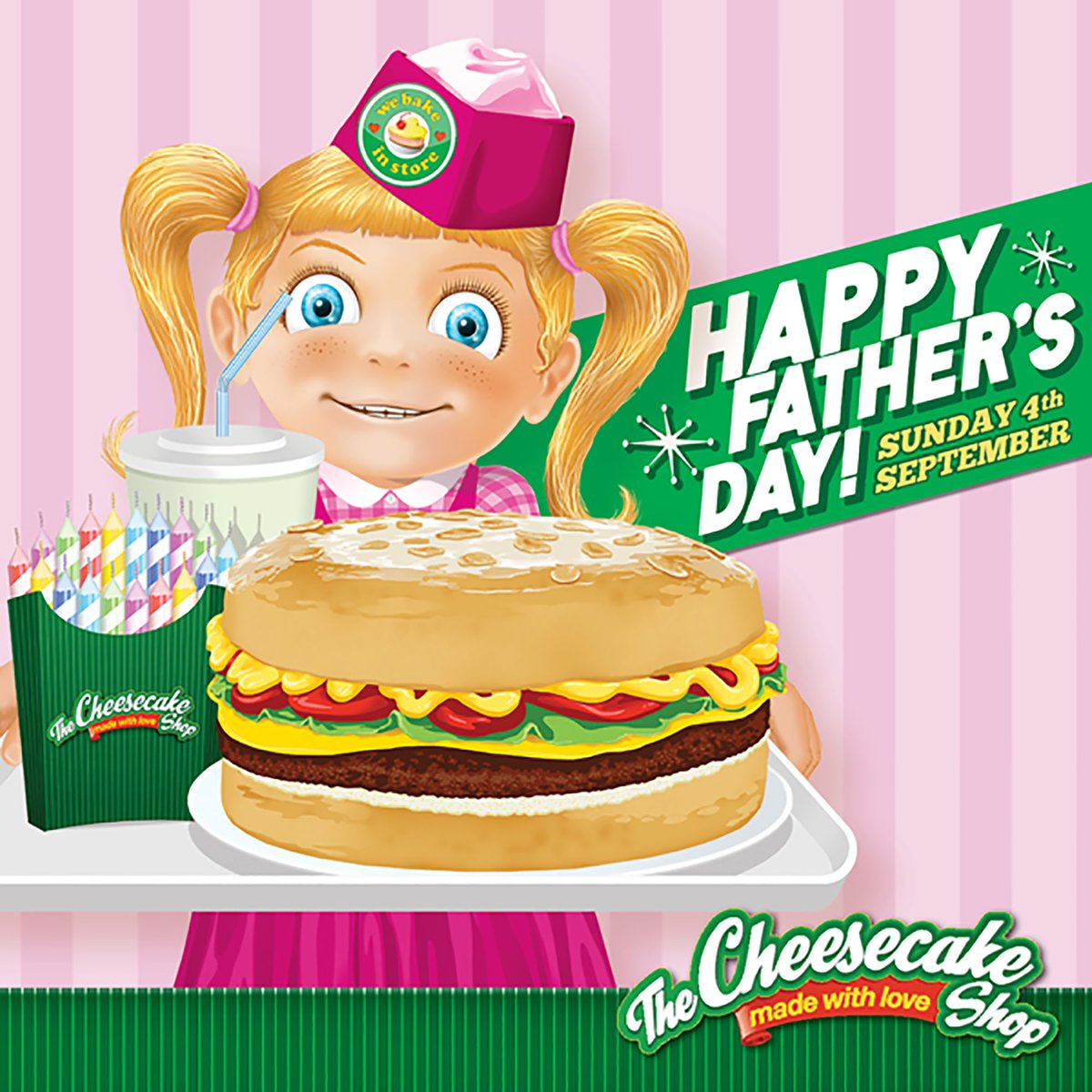 The Cheesecake Shop On Twitter Surprise Dad This Fathers Day With