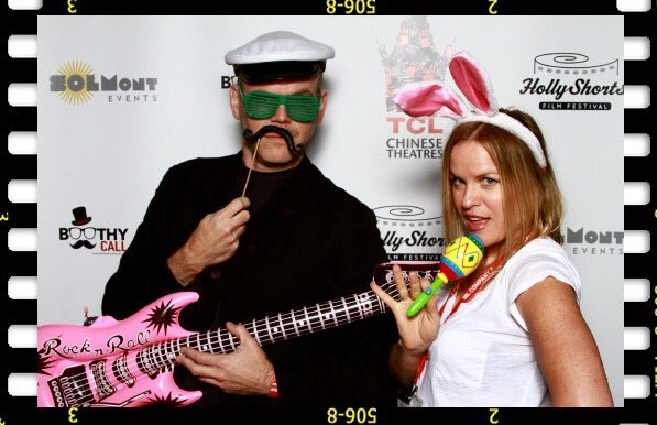 So much fun at @HollyShorts opening night! #HSFF16 #captainandtennille #WithGrace https://t.co/h4lpNOzpdv
