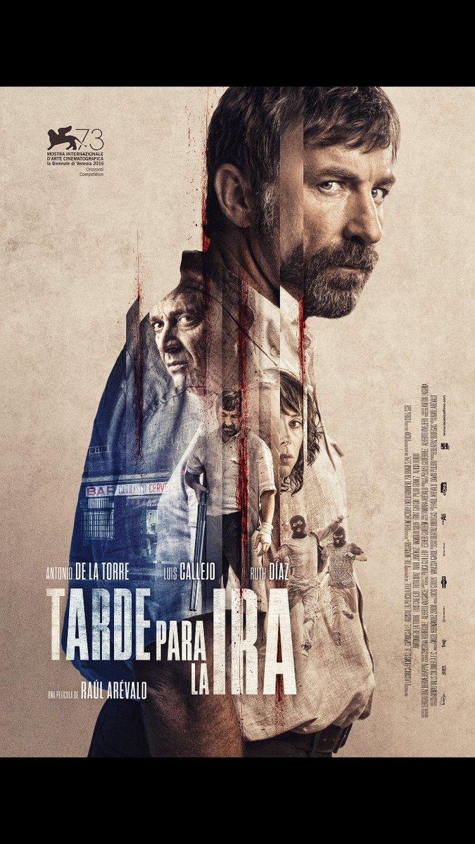 'Tarde para la ira', de @RaulArevaloZ Millor òpera prima #PremisSantJordi de Cinematografia @CONXITACASANOV3 https://t.co/PaCnznfJtu