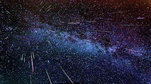 Go out there and watch the  #PerseidMeteorShower, which is particularly strong for a few days. Incredible!!! https://t.co/YeboG6wKzg