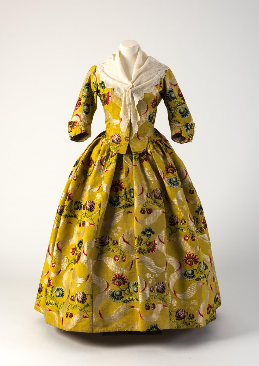Fashion Museum Bath on Twitter   Friday Treat Time  Yellow  red   blue  brocade woven silk closed robe  1740s currently on display in  HFx100  Fashion Museum Bath on Twitter   Friday Treat Time  Yellow  red  . Bath Fashion Museum Gift Shop. Home Design Ideas