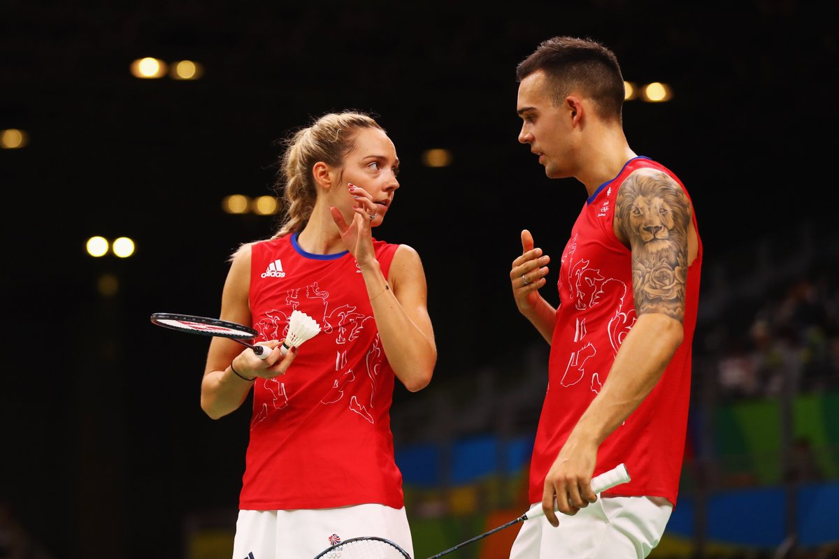 """BBC Sport on Twitter """"Husband and wife team Chris and Gabby"""