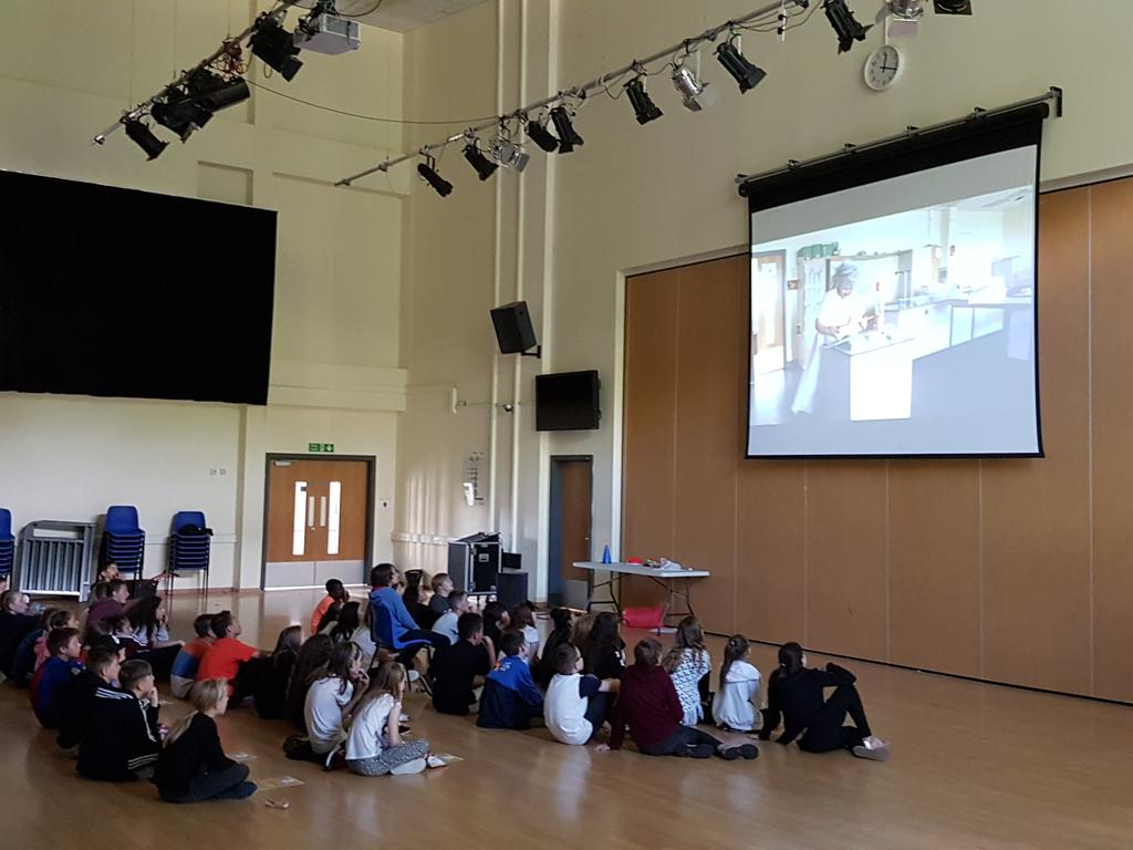 Final day of @SmeatonAcademy Summer School - viewing movie trailers and capturing some student interviews!
