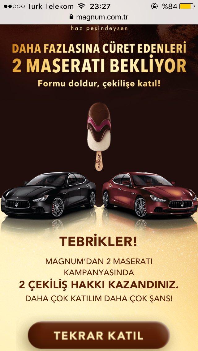 Magnum Türkiye On Twitter şifreleri Için 2 çekiliş Hakkı Magnum