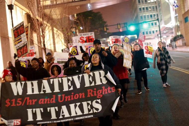 #FightFor15 to hold national convention starting today! via @richmonddotcom https://t.co/5frloh4roL #FightFor15 https://t.co/uPrdt5tRIs