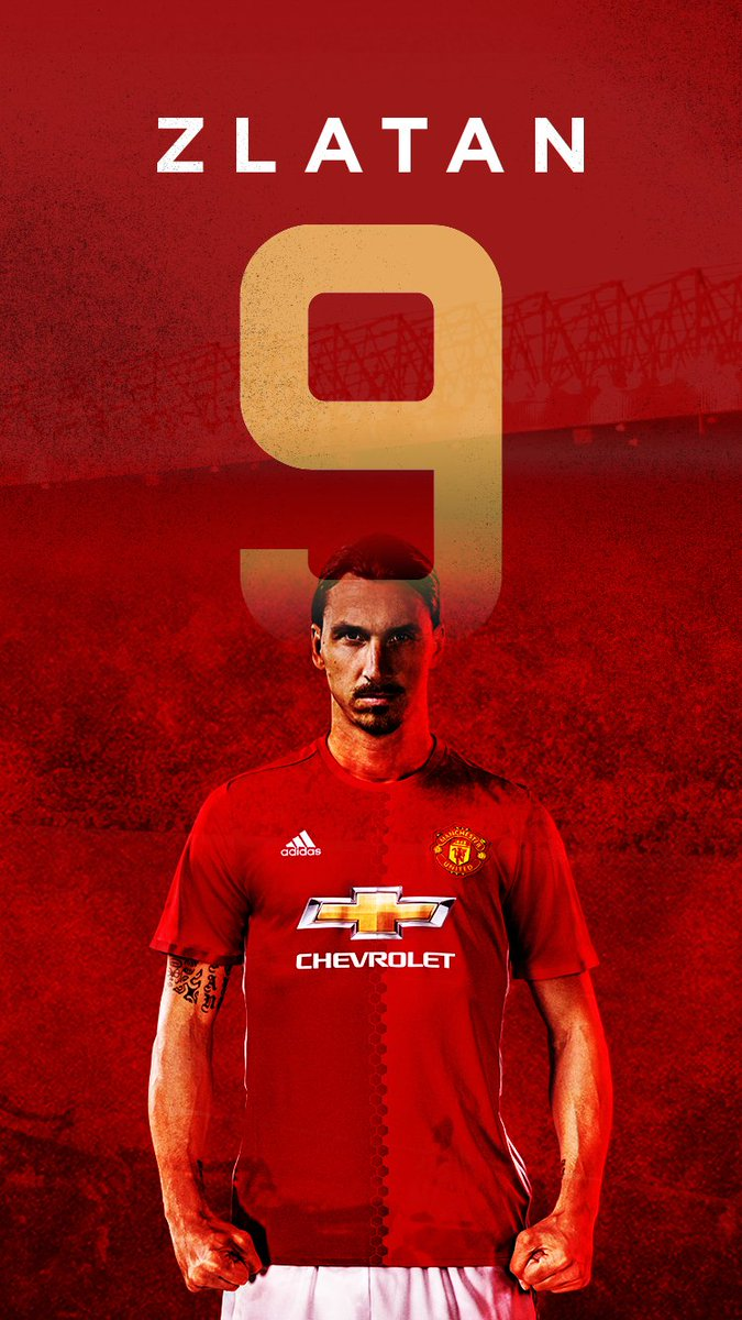 "on Twitter: ""GRAB Your FREE @ManUtd #ZlatanTime iPhone wallpaper ..."