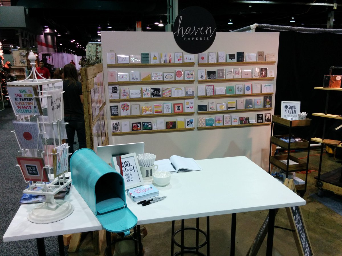 """Table H Et H joe heth on twitter: """"i'm repping @havenpaperie at the"""