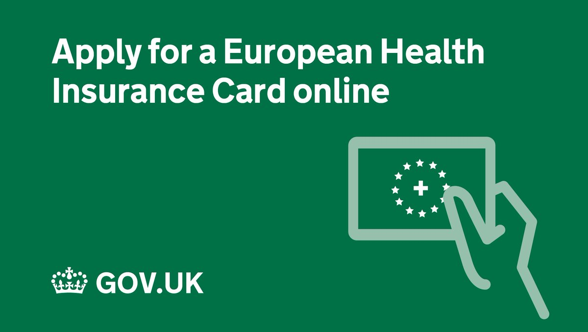 Renew Ehic Card Uk >> Gov Uk On Twitter If You Need To Renew Your European Health