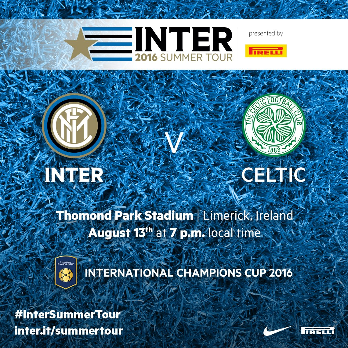 Diretta INTER CELTIC Streaming gratis Rojadirecta: dove vedere Video TV con Tablet iPhone e PC Live Oggi 13 agosto 2016