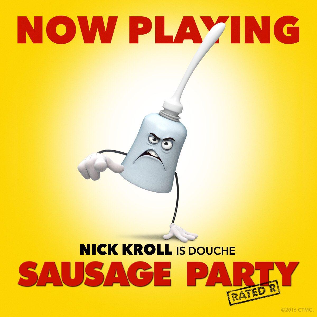 """Nick Kroll On Twitter: """"Go See #SausagePartyMovie. Spoiler"""