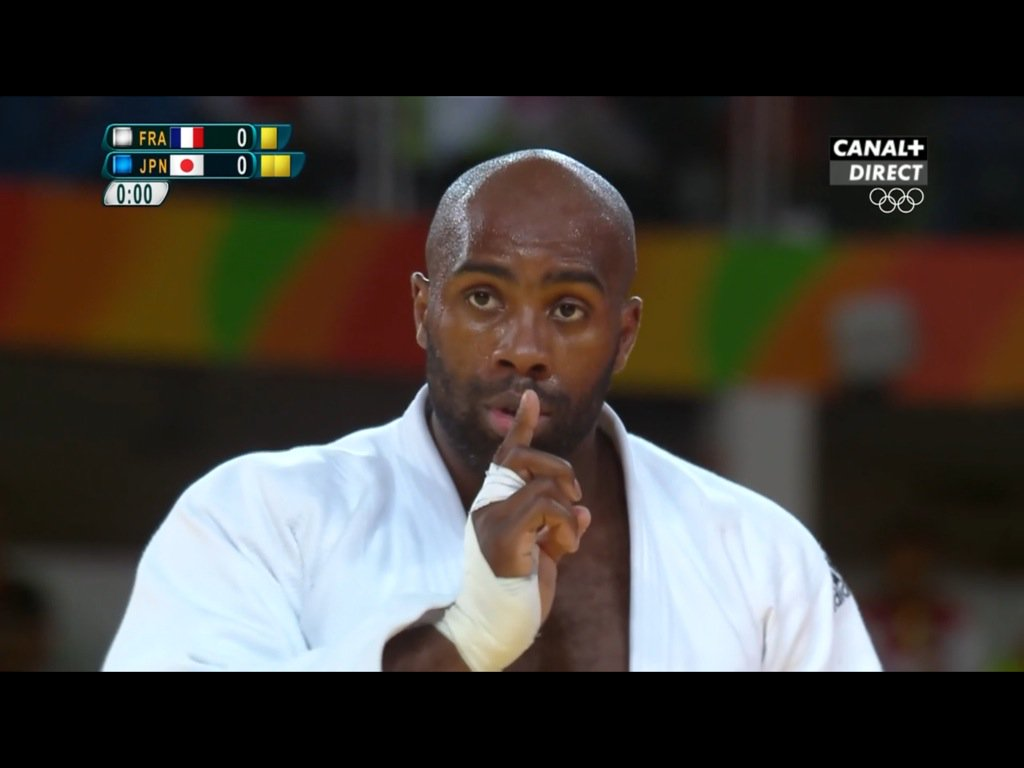 infosport on twitter teddy riner champion olympique fra rio2016 le g ant. Black Bedroom Furniture Sets. Home Design Ideas