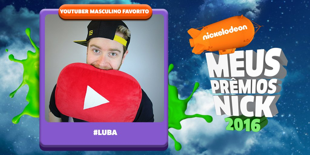 Vote agora mesmo no seu Youtuber Favorito! Para apoiar #Luba no #MPN basta dar RT neste tweet! @LubaTV https://t.co/FGmrv6JenK