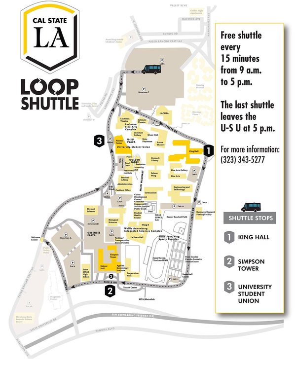 Cal State LA Parking on Twitter: \