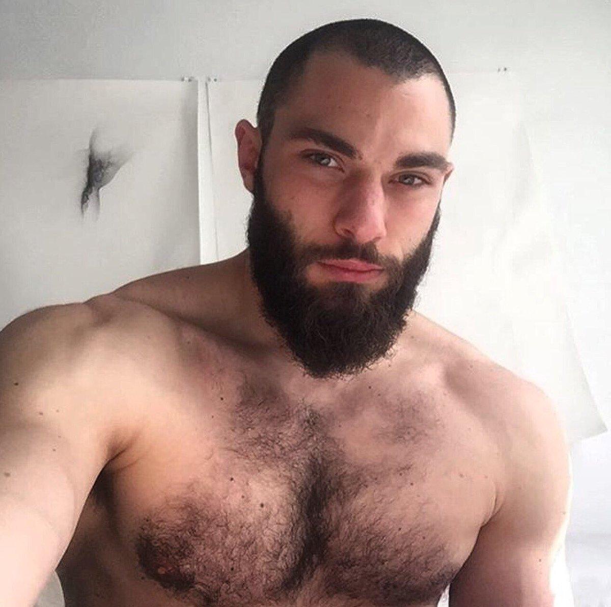 Gay man hairy