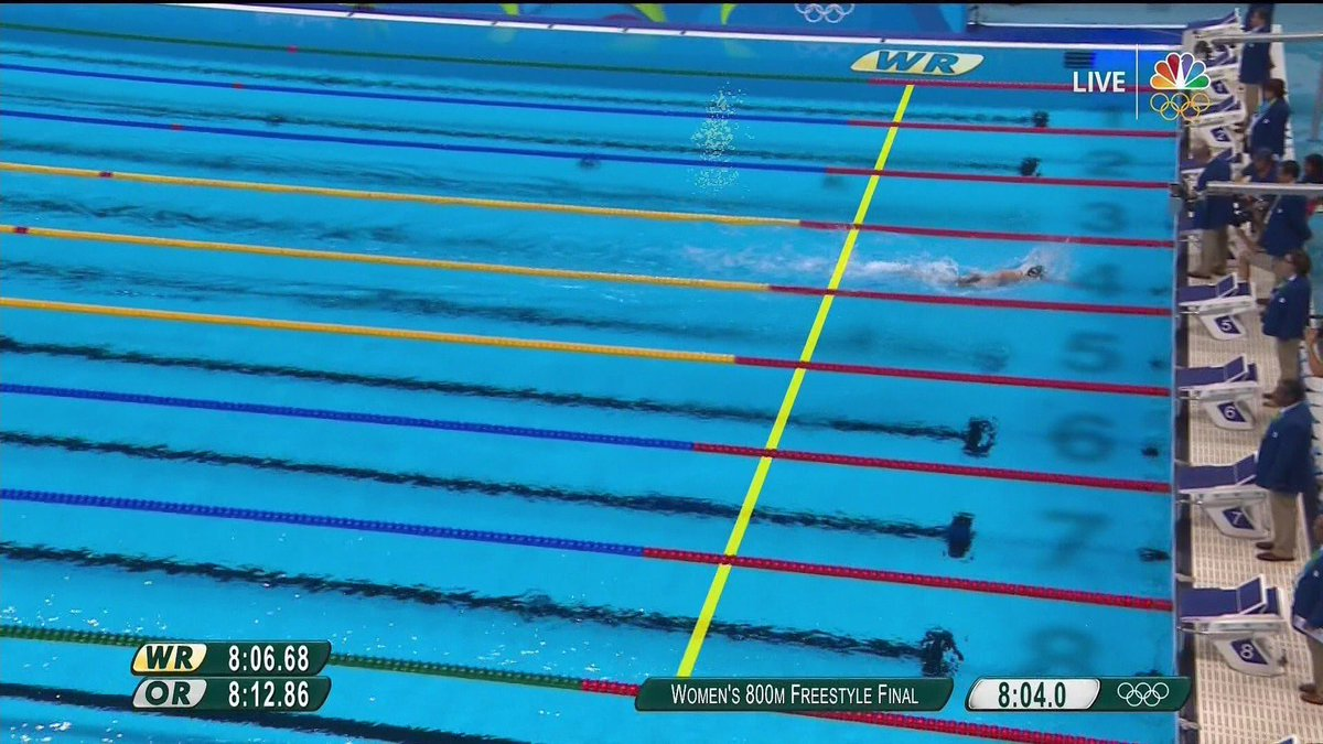 Did the other swimmers drown?! #Ledecky #BeastMode https://t.co/hmYB8unBtn