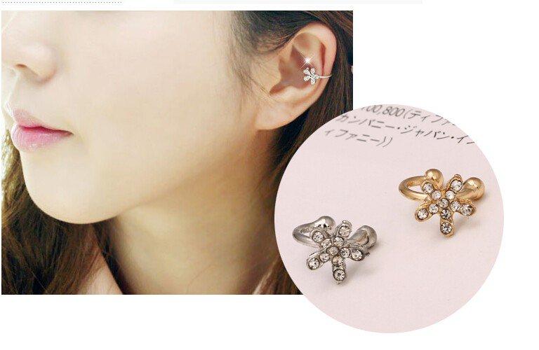 rhinestone flower ear cuff https://t.co/K0T226HzDv https://t.co/u9Sdr9MOzN