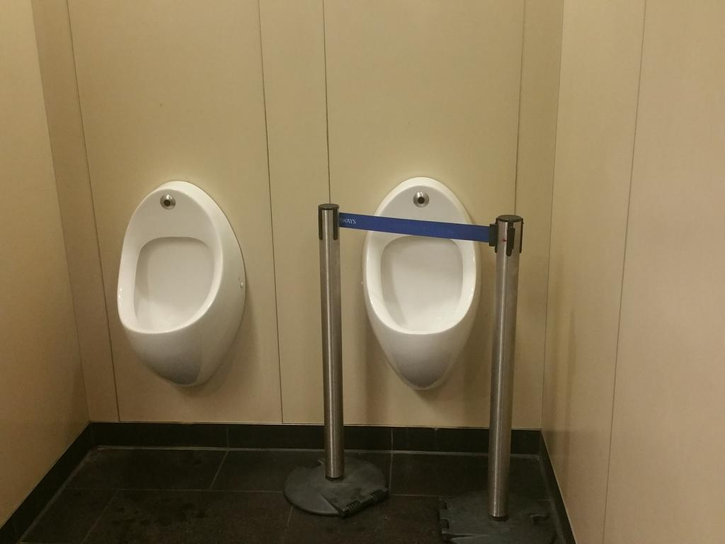 Don't think much of the VIP toilets at heathrow. https://t.co/Sq9ZF5wDow